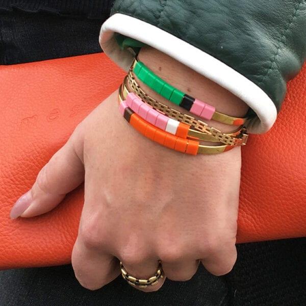 BAEKKE armbånd orange