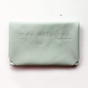 MES AFFAIRES clutch mint