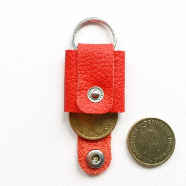 USMEUS møntpung til nøglering rød