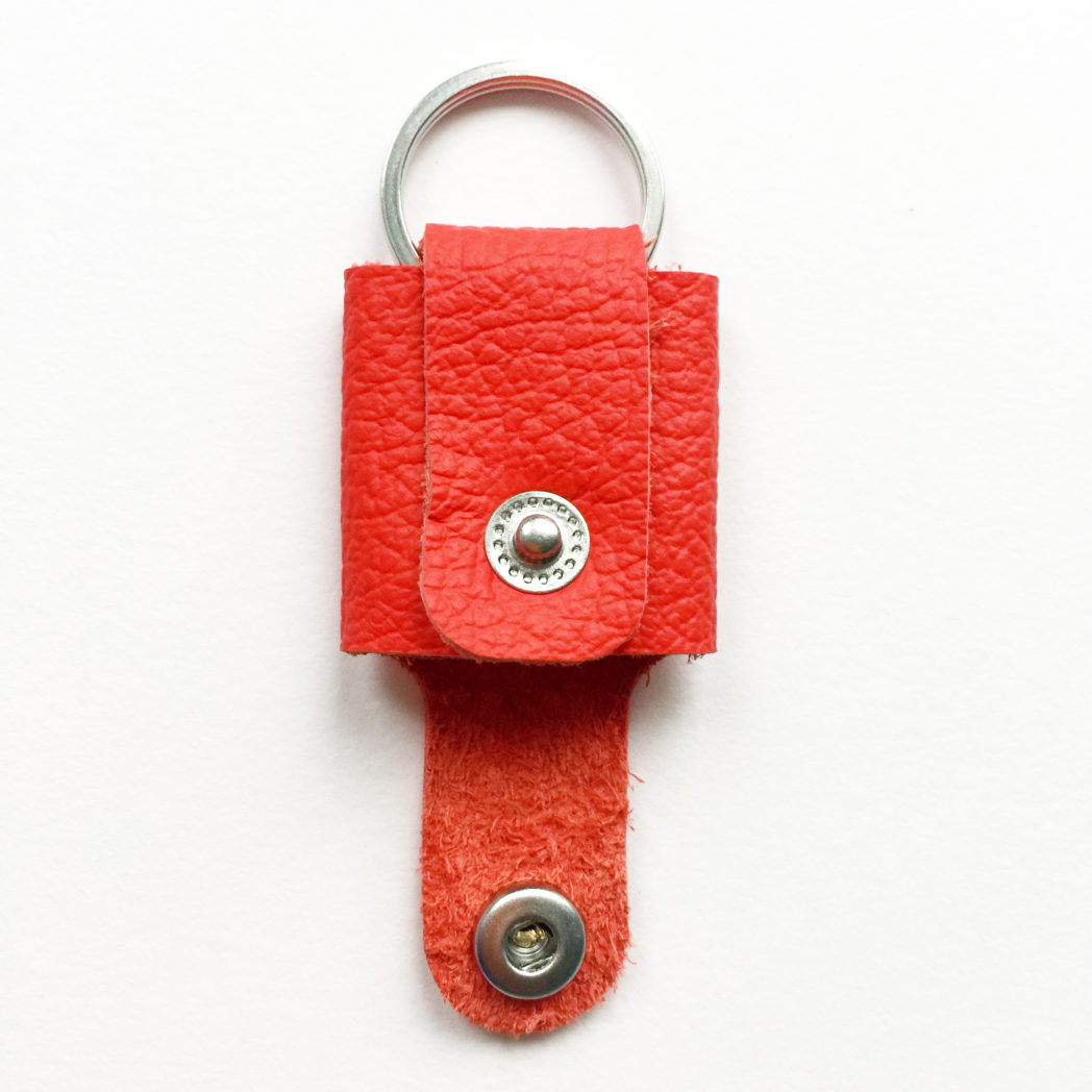 USMEUS pung nøglering åben ferrari rød
