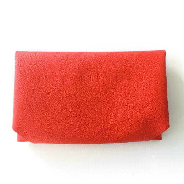 MES AFFAIRES clutch rød