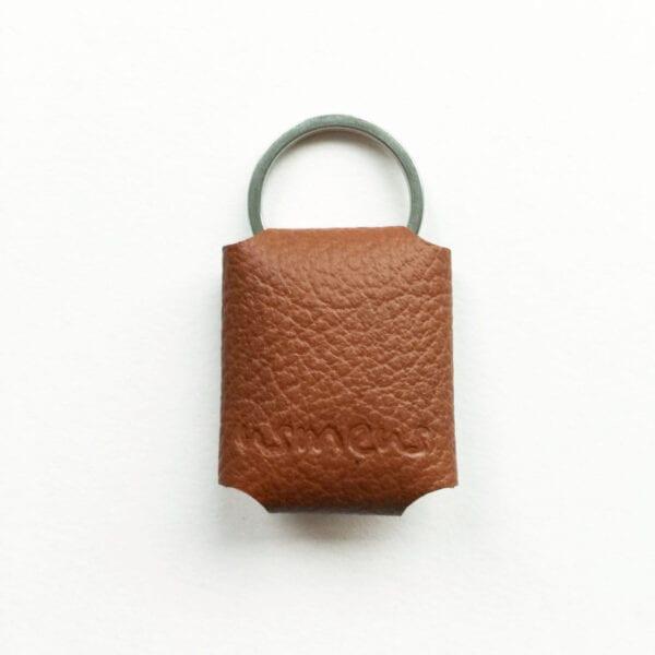 USMEUS pung til nøglering brun