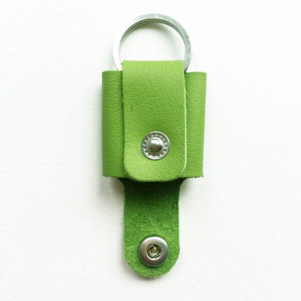 USMEUS pung nøglering åben grøn