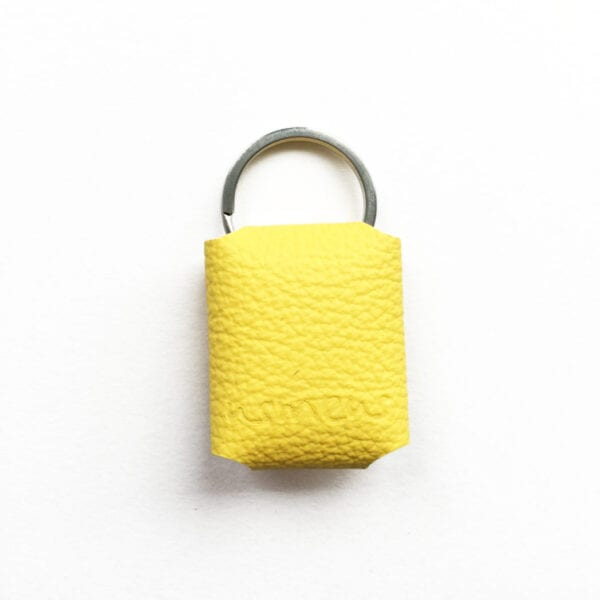 USMEUS pung til nøglering gul