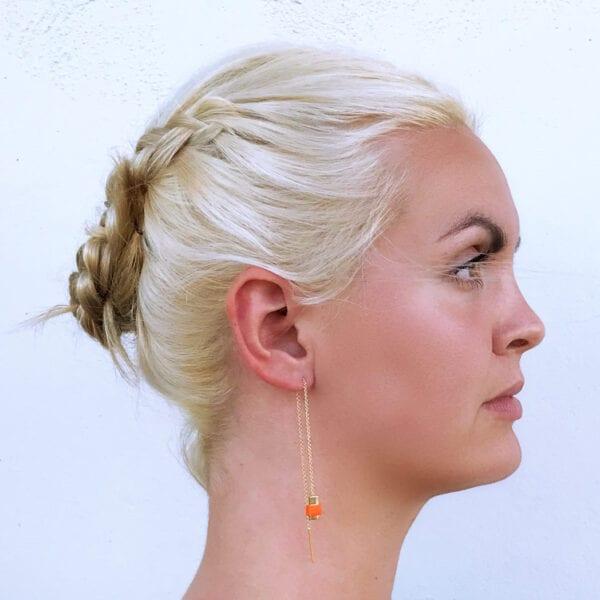 USMEUS BAEKKE kæde ørering