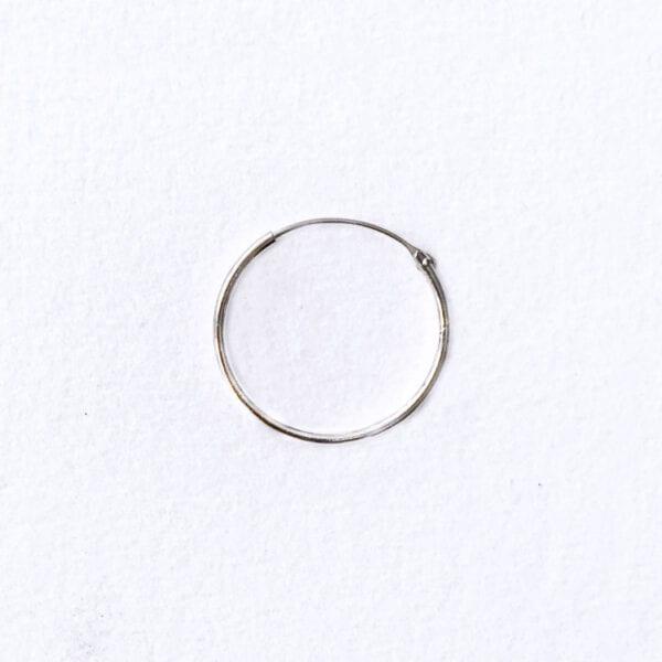 Hoop 20 mm sølv