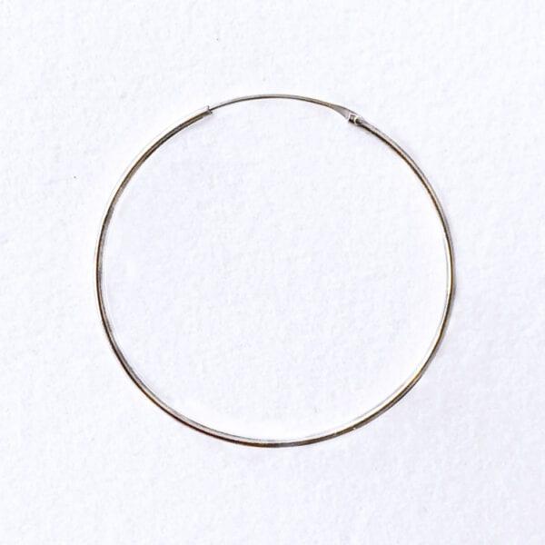 Hoop 40 mm sølv